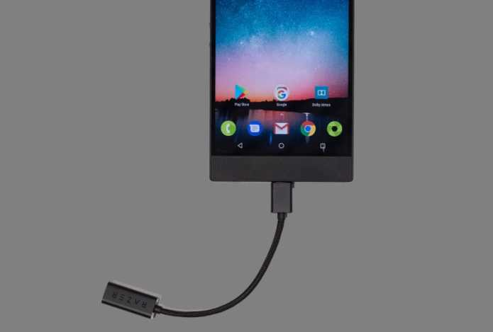 Razer phone new model for gamers cable